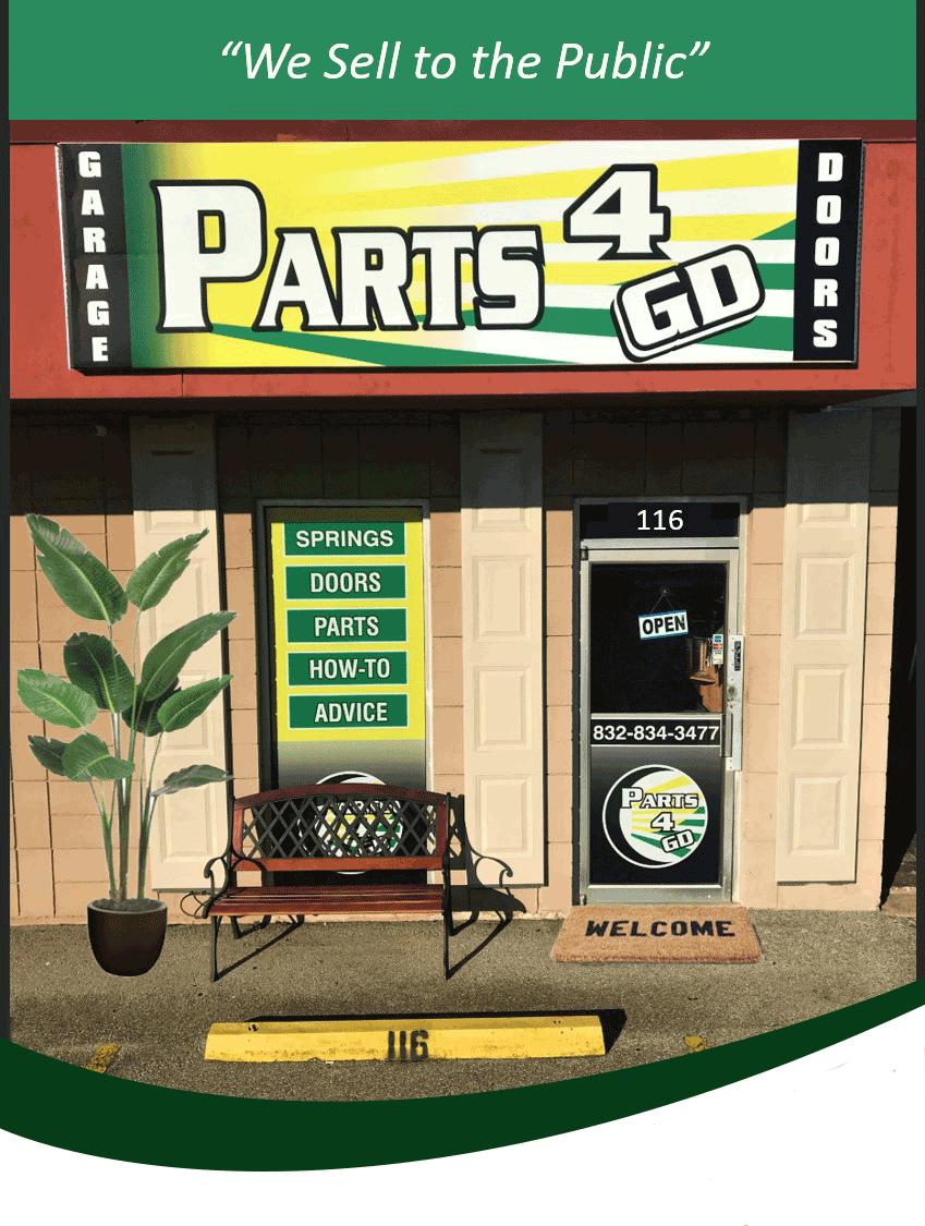 Garage parts store